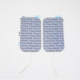 Electrodes DURA-STICK +  rectangle 50x90mm - sachet de 4