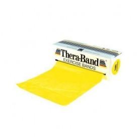 Bande de rééducation Thera-Band - 5,50 m - Force souple