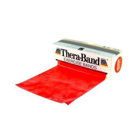 Bande de rééducation Thera-Band - 5,50 m - Force moyen