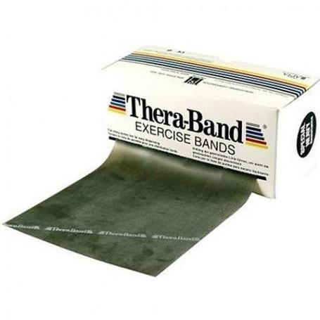 Bande de rééducation Thera-Band - 5,50 m - Force spécial fort