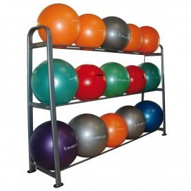 Rack de rangement pour gymballs