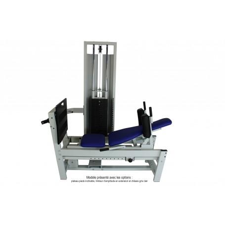 Presse horizontale à charge latérale 100 kg Modulo Evolution Design Corporel