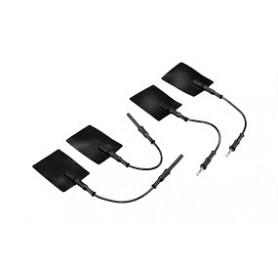 ELECTRODE PLASTIX 4x6 la paire