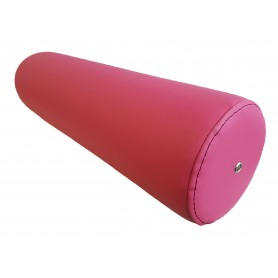 coussin cylindrique diam.10x50 - Framboise