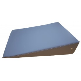 COUSSIN TRIANGULAIRE 60x45x15cm coloris GRANIT