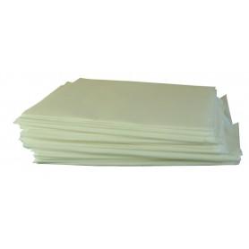 DRAP RÉUTILISABLES - Carton de 100 draps et 100 pochettes