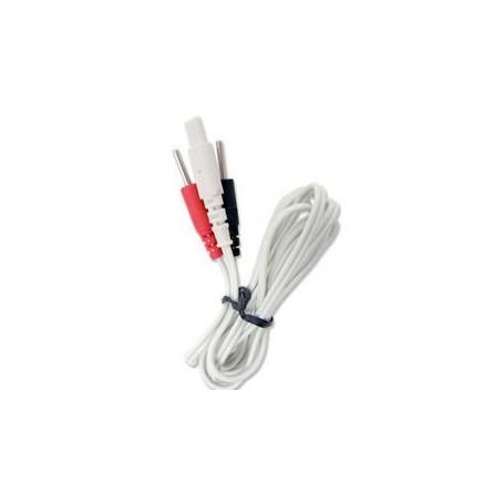 Cable pour NEUROTRAC TENS et REHAB - Jeu de 2