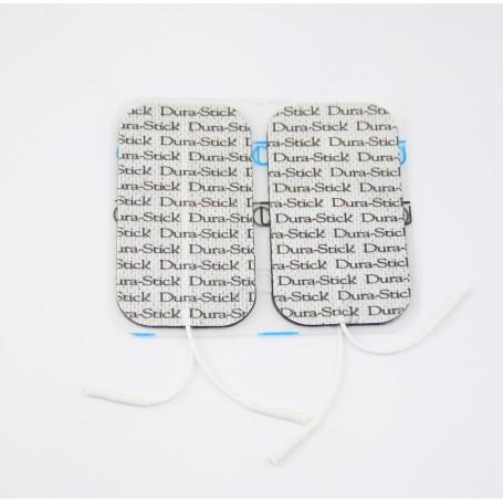 Electrodes DURA-STICK rectangulaire 50x90mm - sachet de 4