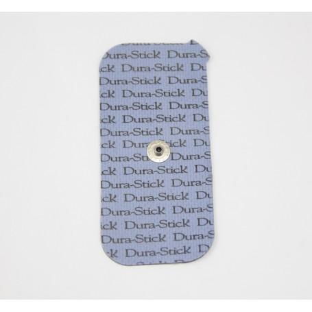 Electrode Dura-stick + à snap rectangulaire 50x100 - 1 snap - sachet de 2