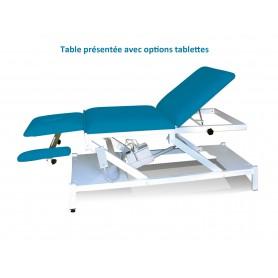 TABLE DE MASSAGE ELECTRIQUE AVEC ACCOUDOIRS PLONGEANTS MULTI-POSITIONS - HM700 APMP