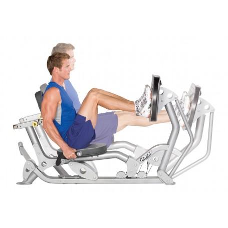 option PRESSE A CUISSE pour MULTIGYM semi-professionnel Hoist Fitness HV-4 Elite