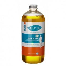 HUILE de massage MUSCULAIRE à l'arnica BIO - 500 ml