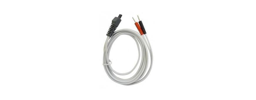 Electrothérapie 2 voies- Accessoires - Câbles